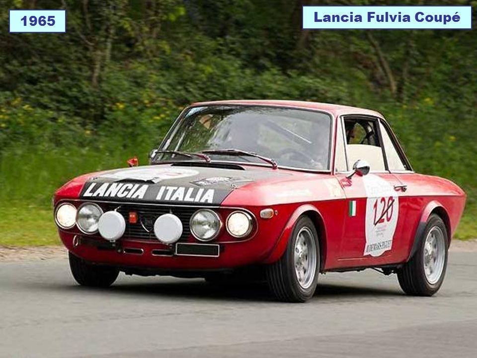 Lancia Fulvia Coupé 1965