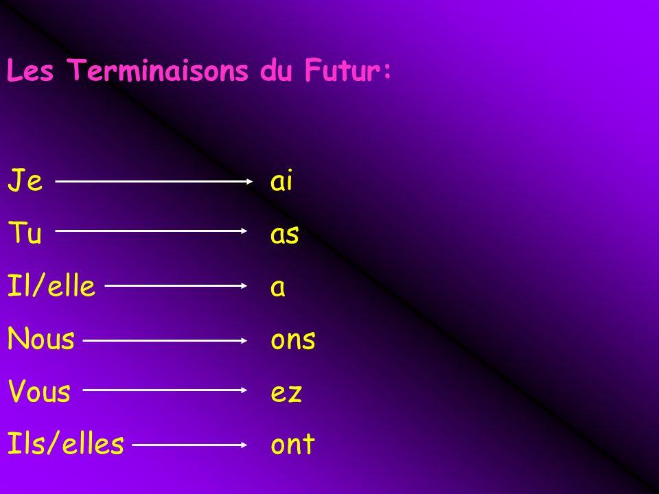 Les Terminaisons du Futur: