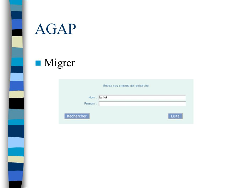 AGAP Migrer