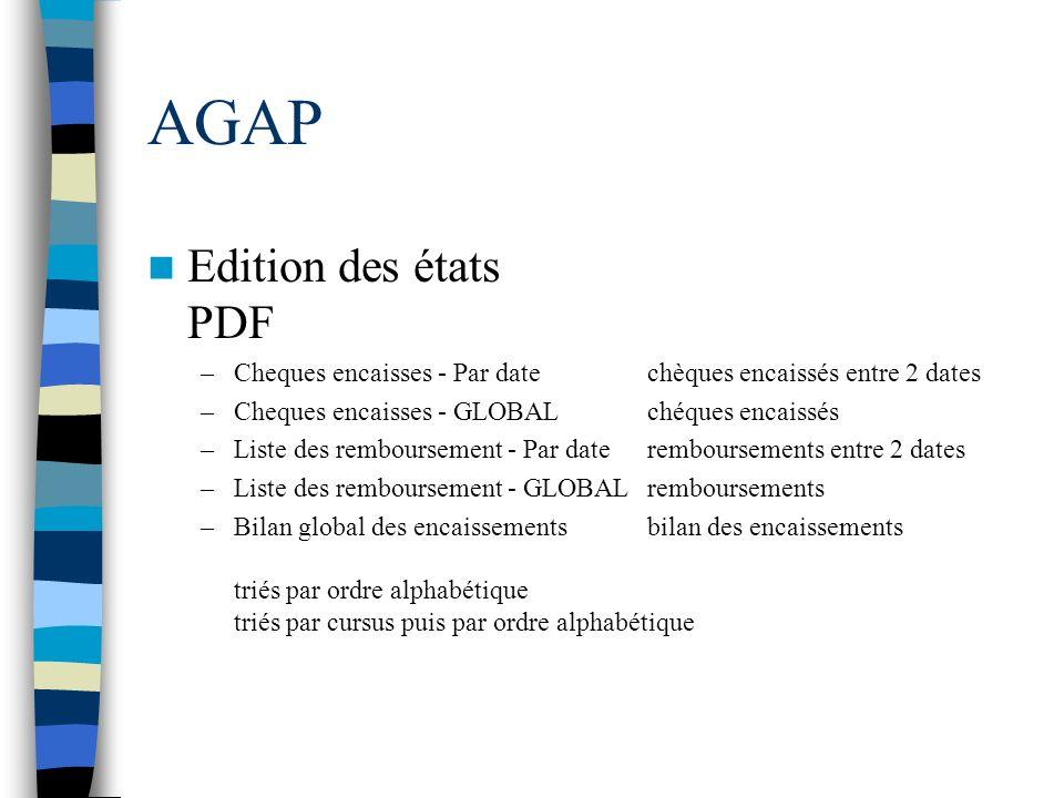 AGAP Edition des états PDF