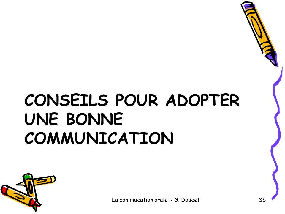 Conseils pour adopter une bonne communication