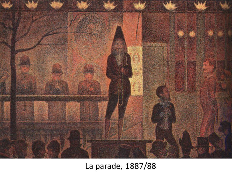 La parade, 1887/88