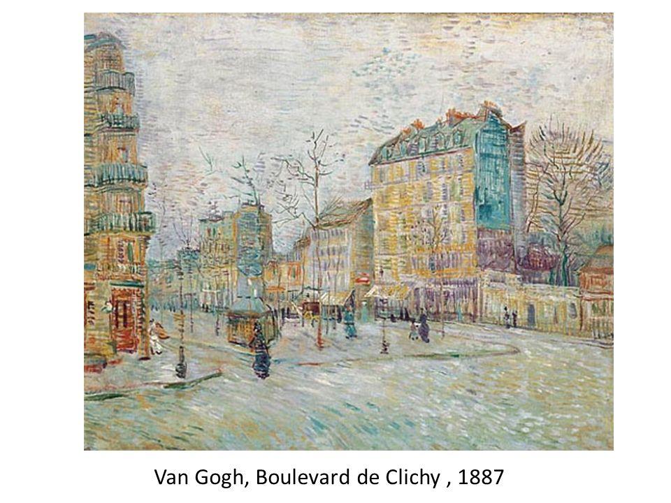Van Gogh, Boulevard de Clichy , 1887