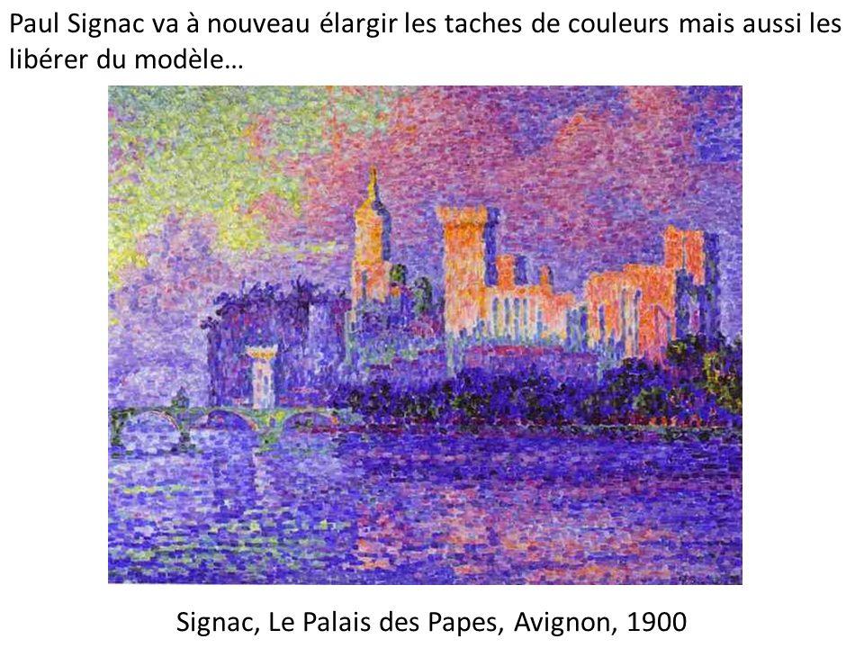 Signac, Le Palais des Papes, Avignon, 1900