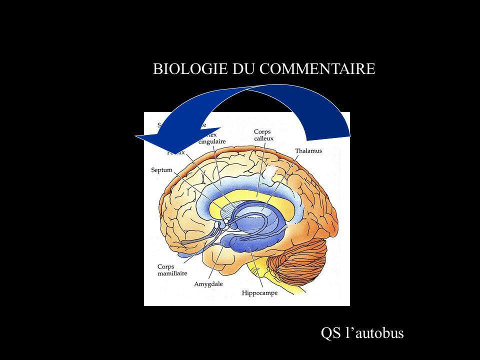 BIOLOGIE DU COMMENTAIRE