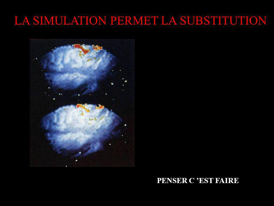 LA SIMULATION PERMET LA SUBSTITUTION