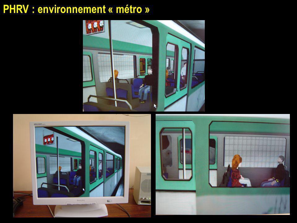 PHRV : environnement « métro »