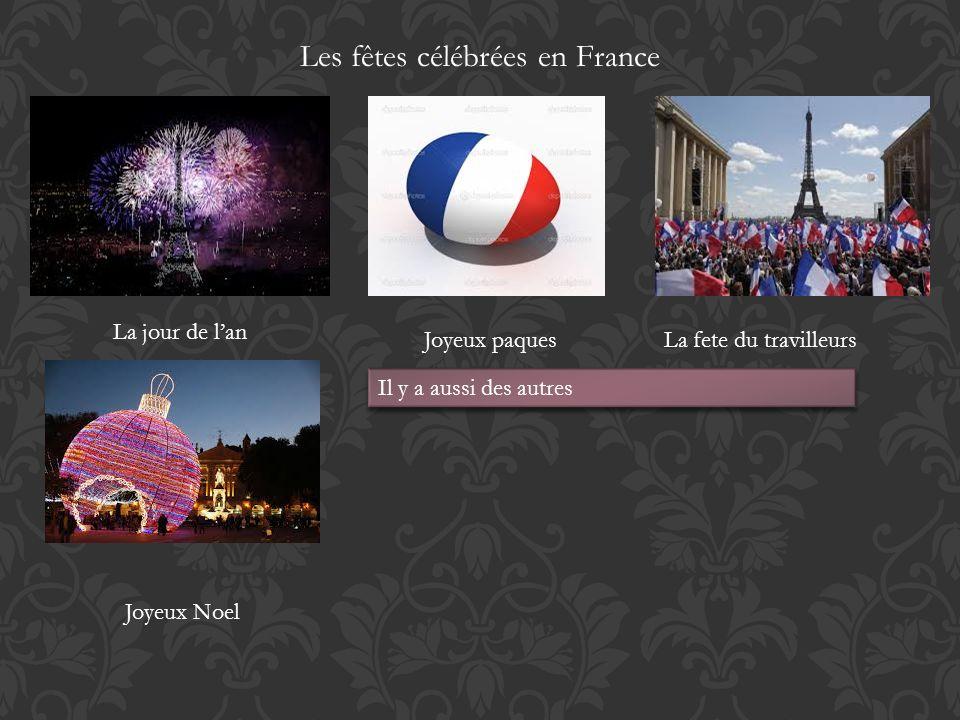 Les fêtes célébrées en France