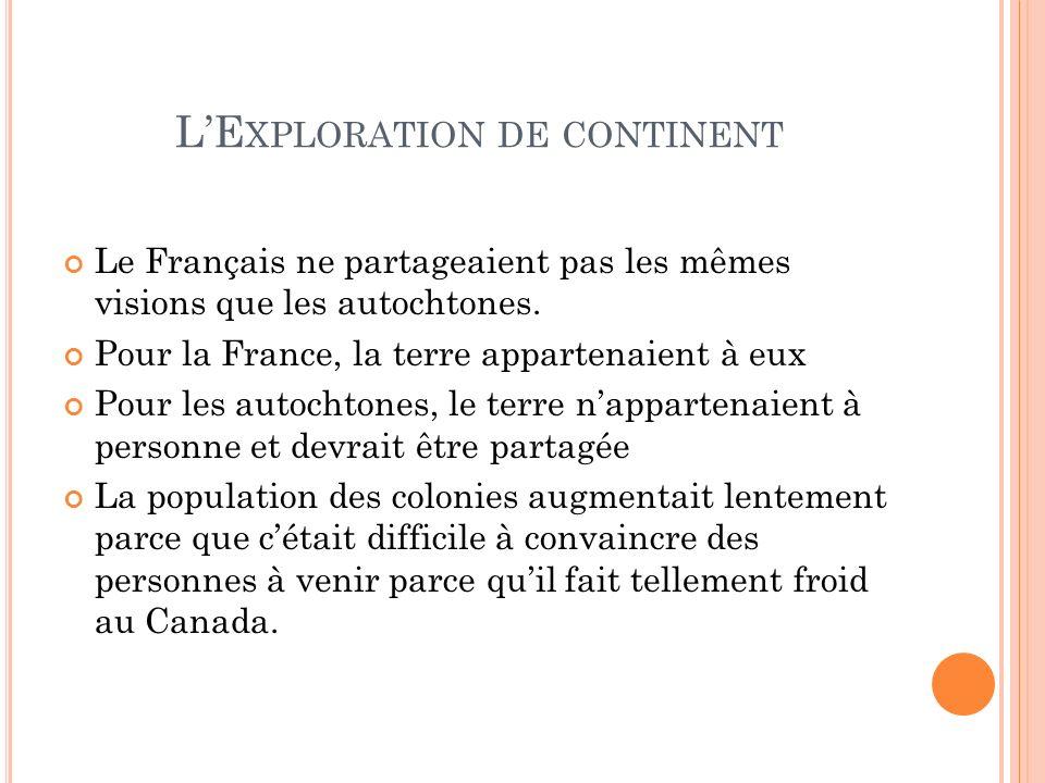L'Exploration de continent