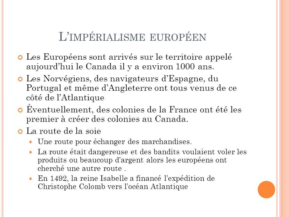 L'impérialisme européen