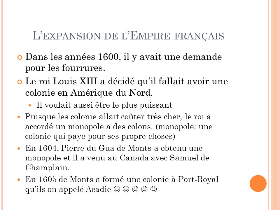 L'expansion de l'Empire français