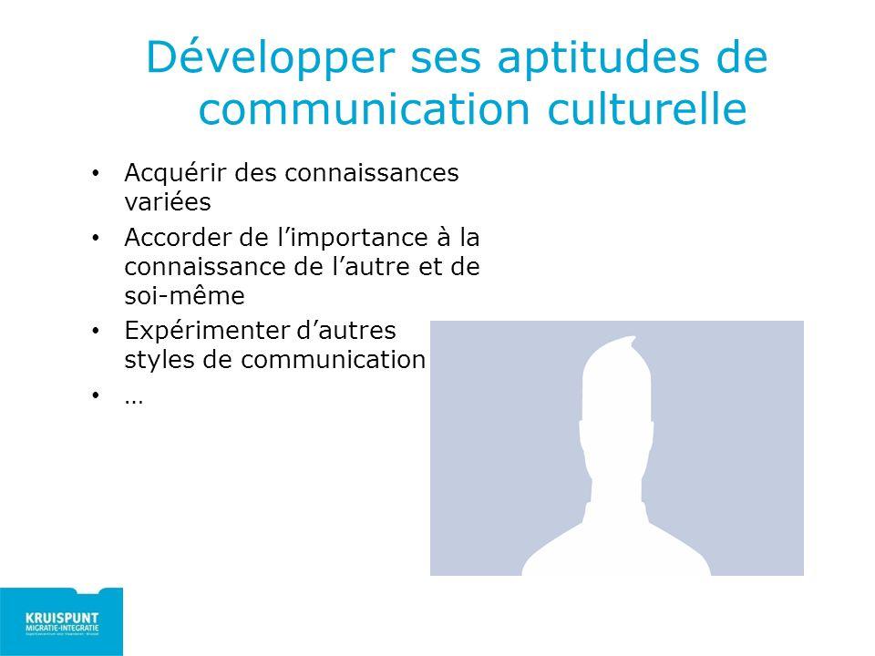 Développer ses aptitudes de communication culturelle