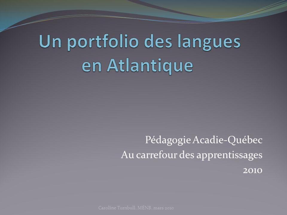 Un portfolio des langues en Atlantique