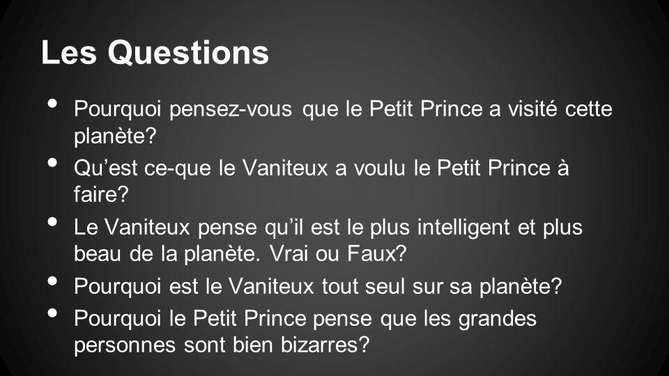 Le petit prince chapitre 11 le vaniteux ppt video for Qu est ce que le plan de masse