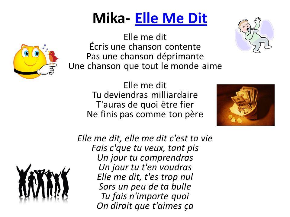 Mika- Elle Me Dit
