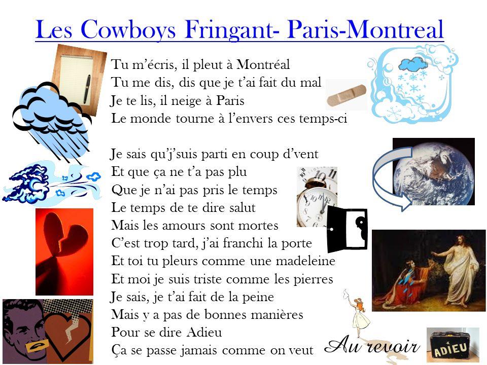 Les Cowboys Fringant- Paris-Montreal