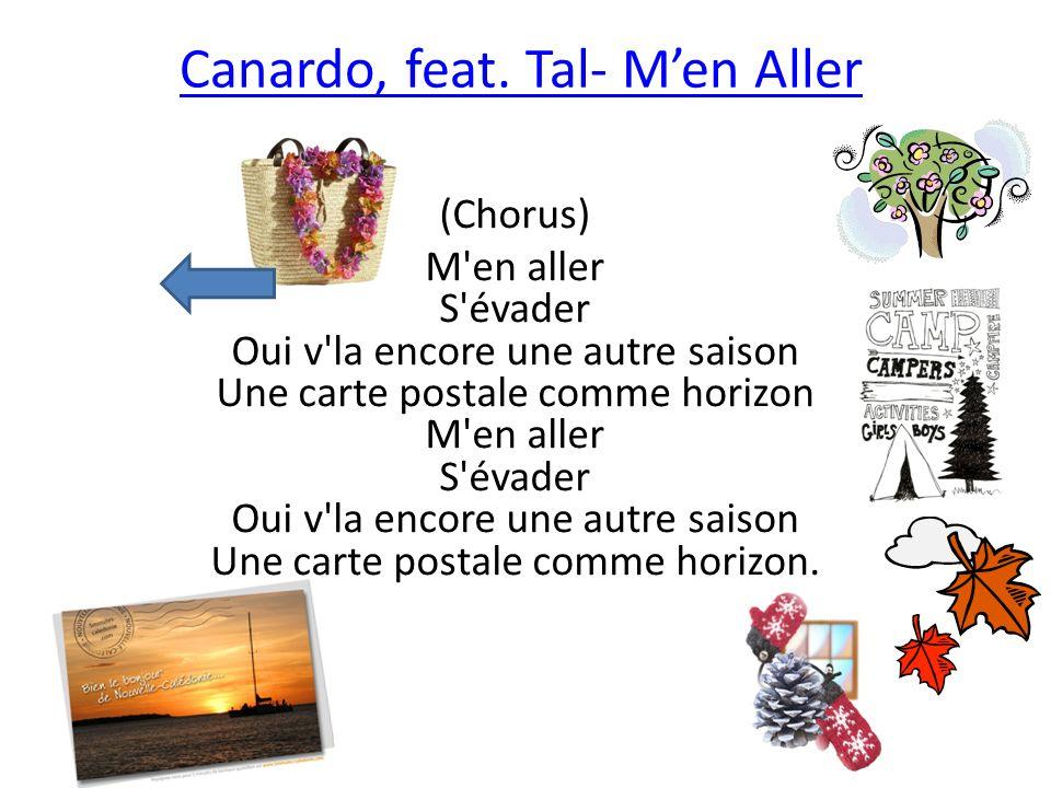 Canardo, feat. Tal- M'en Aller