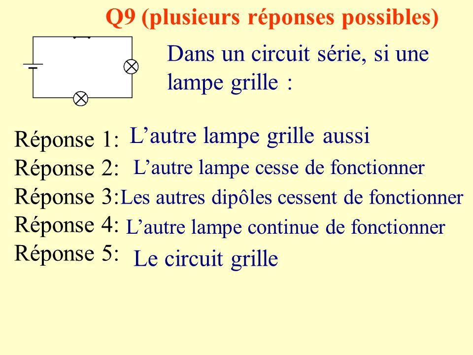 Q9 (plusieurs réponses possibles)