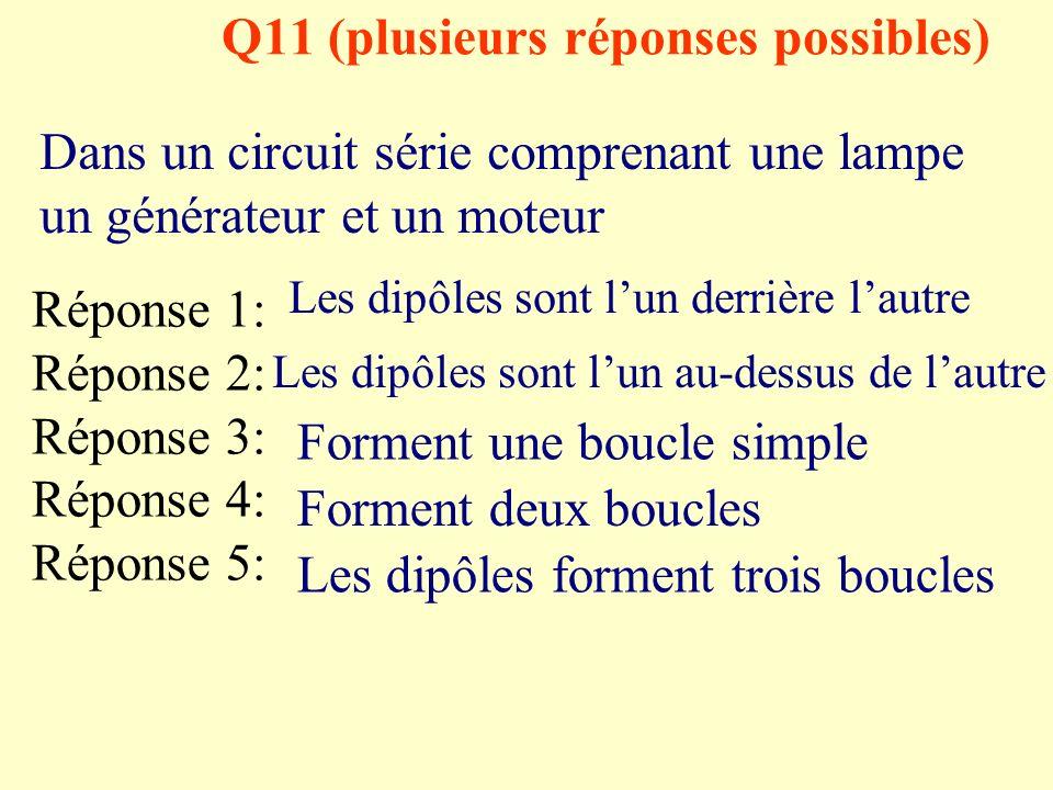 Q11 (plusieurs réponses possibles)