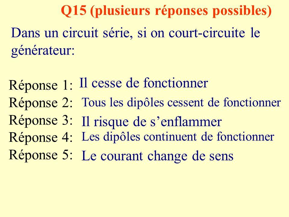Q15 (plusieurs réponses possibles)