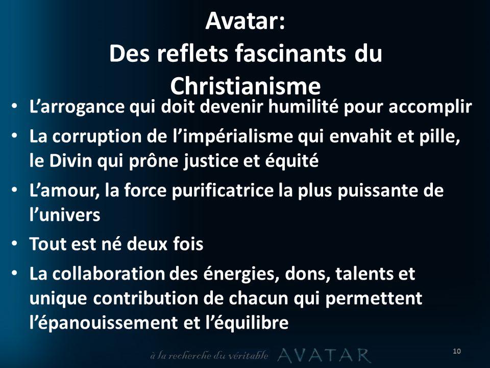 Avatar: Des reflets fascinants du Christianisme
