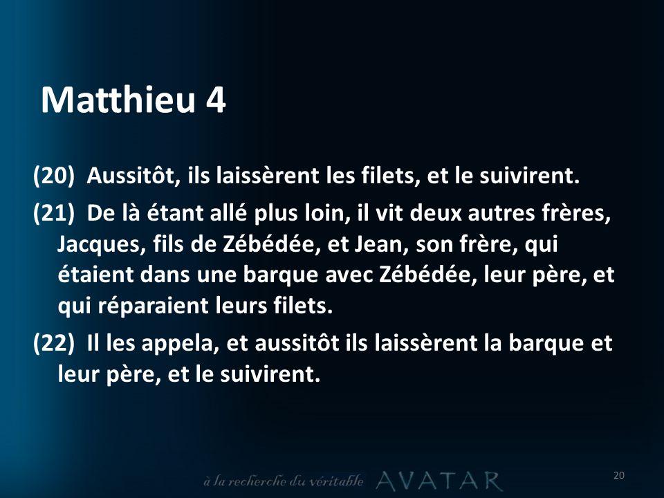 Matthieu 4