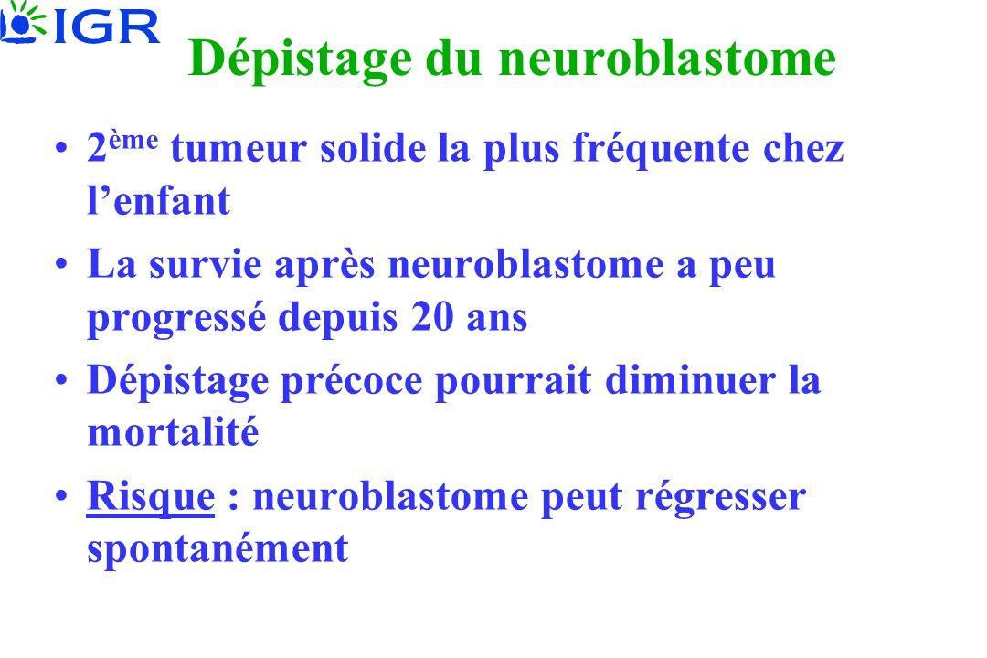Dépistage du neuroblastome