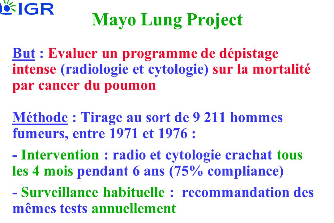 Mayo Lung Project