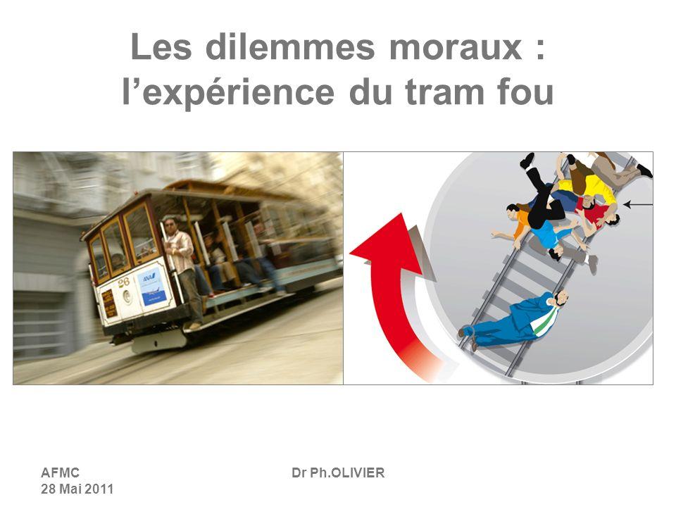 Les dilemmes moraux : l'expérience du tram fou