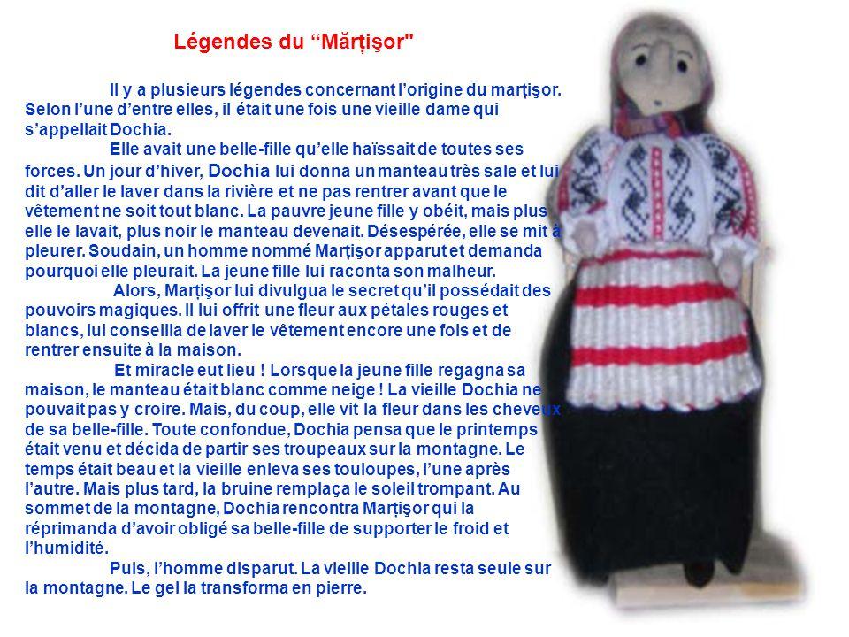 Légendes du Mărţişor ll y a plusieurs légendes concernant l'origine du marţişor.