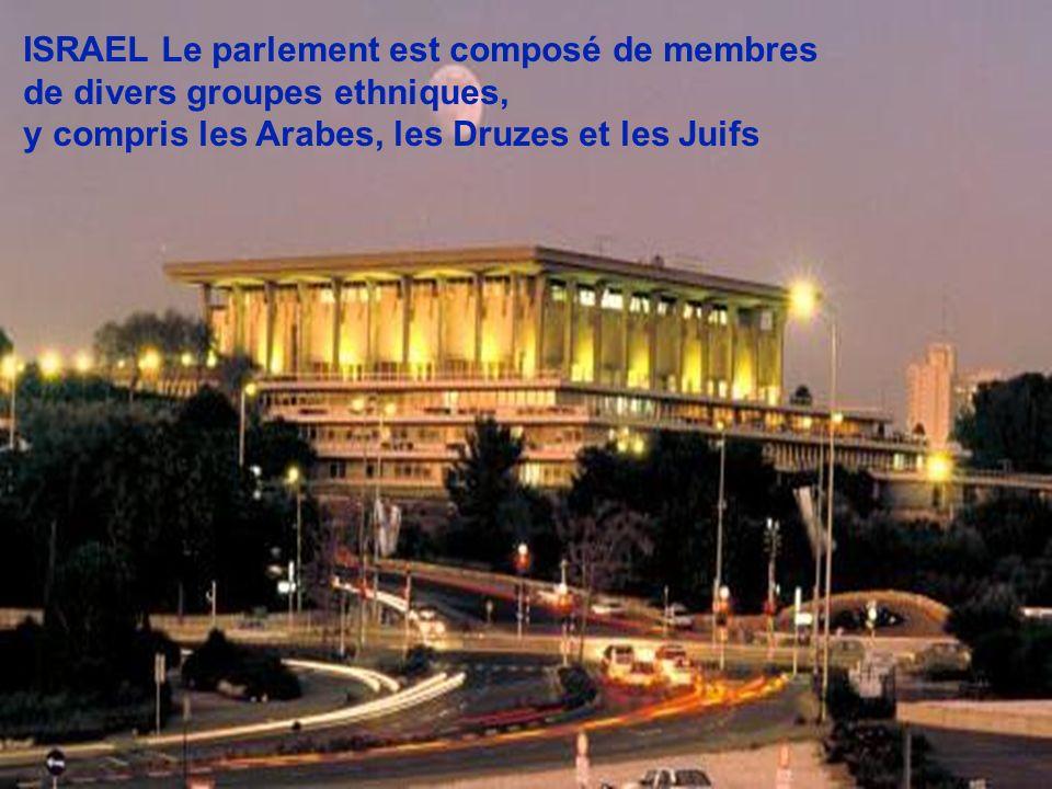 ISRAEL Le parlement est composé de membres
