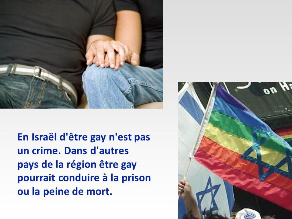 En Israël d être gay n est pas un crime