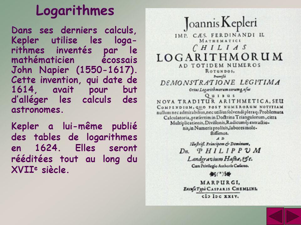 Logarithmes