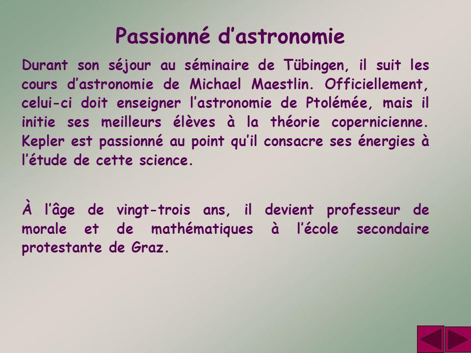 Passionné d'astronomie