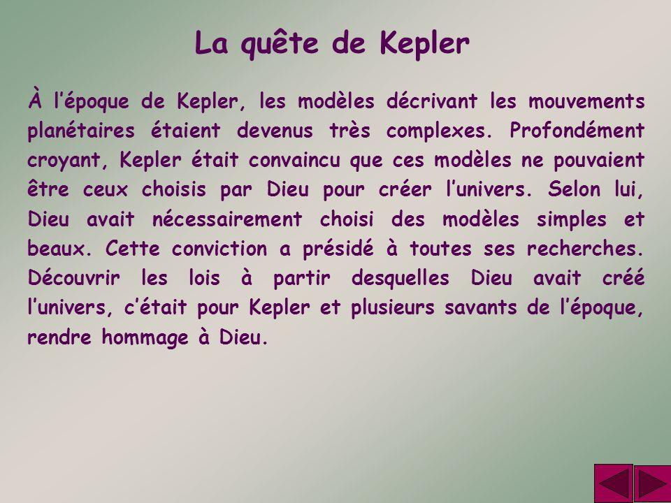 La quête de Kepler