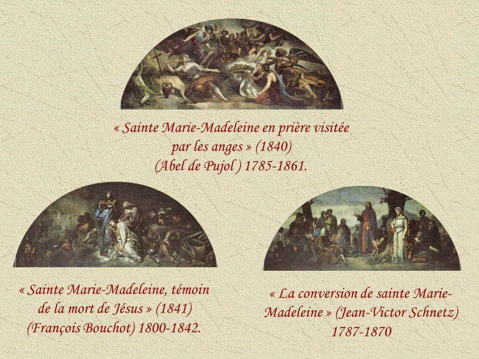 « La conversion de sainte Marie-Madeleine » (Jean-Victor Schnetz)