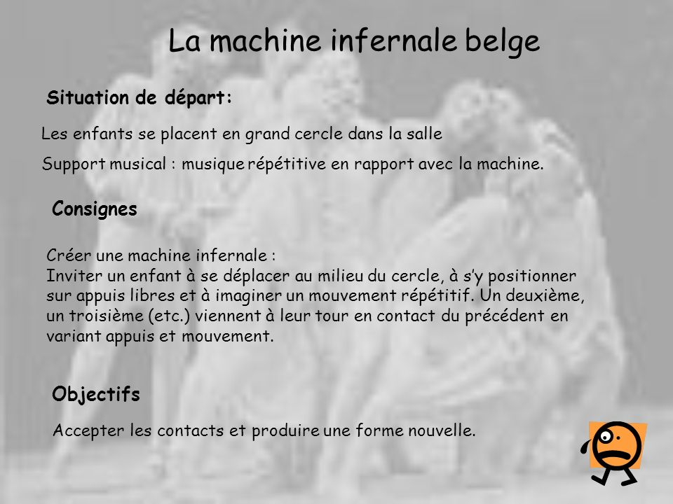 La machine infernale belge