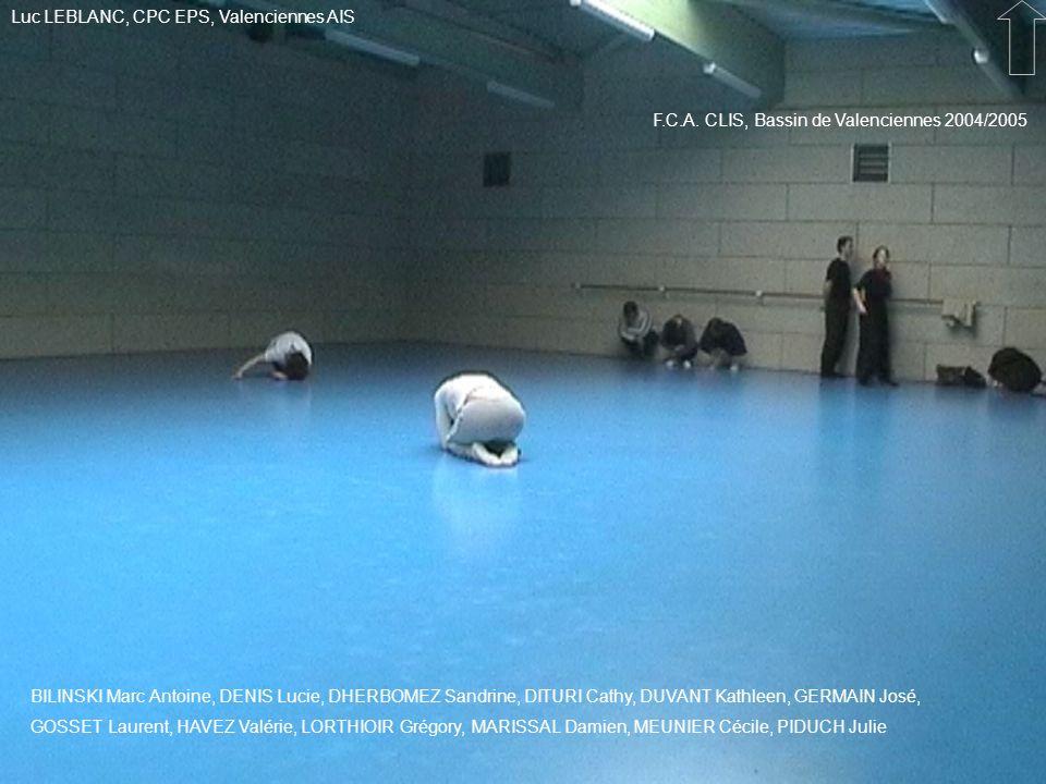 Luc LEBLANC, CPC EPS, Valenciennes AIS