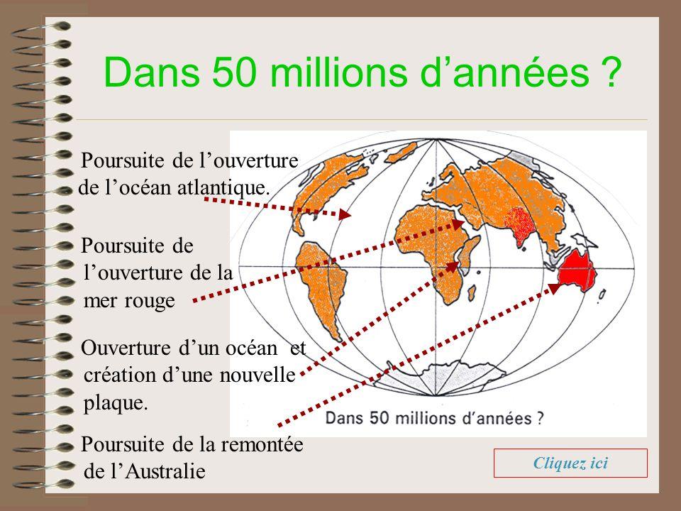 Dans 50 millions d'années