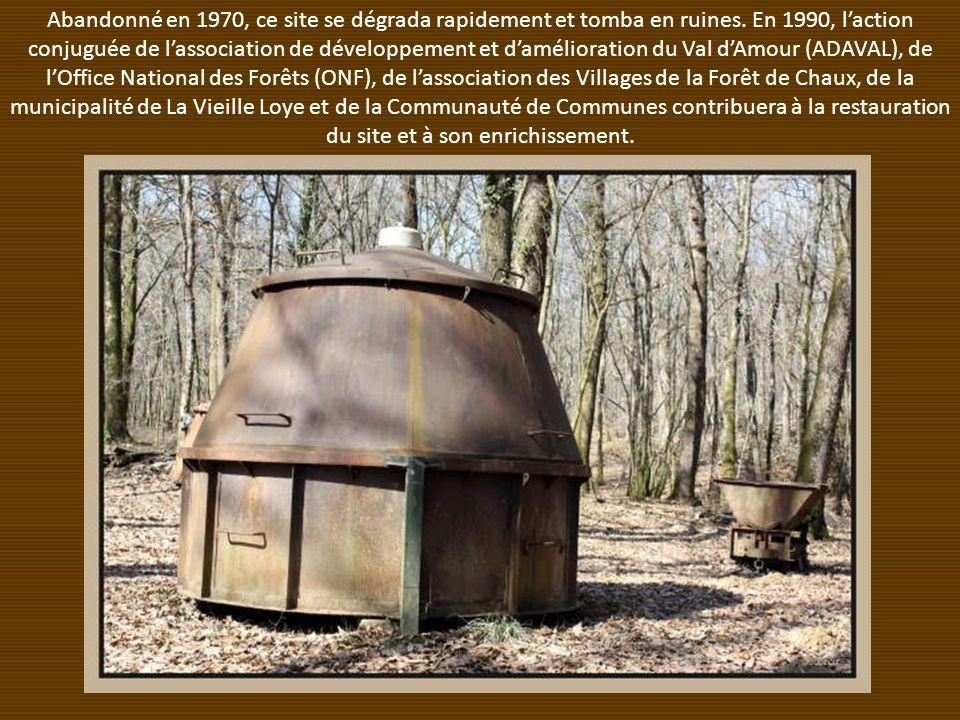 Abandonné en 1970, ce site se dégrada rapidement et tomba en ruines