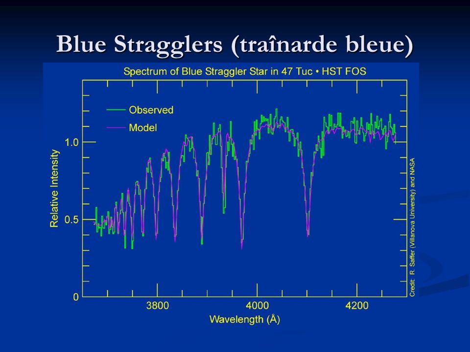 Blue Stragglers (traînarde bleue)