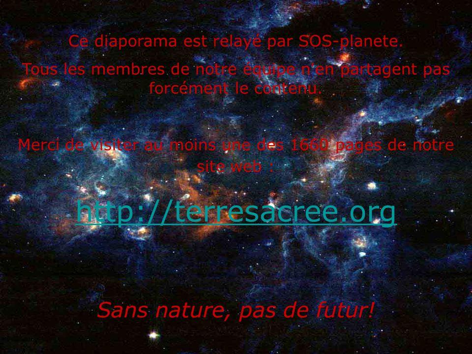http://terresacree.org Sans nature, pas de futur!
