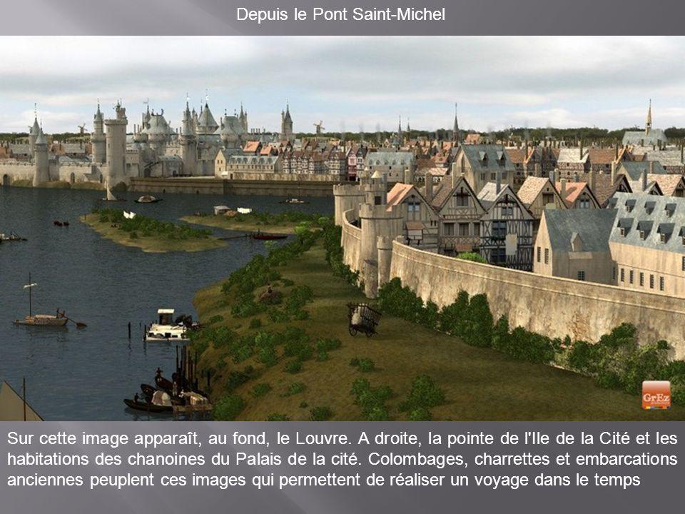 Depuis le Pont Saint-Michel