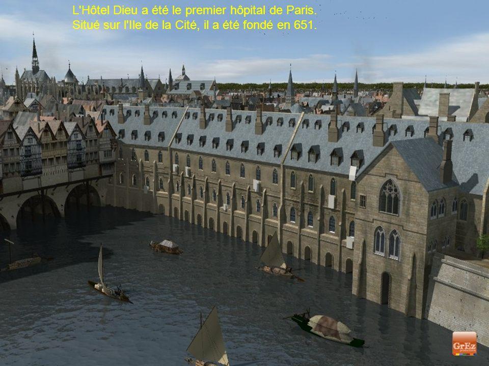 L Hôtel Dieu a été le premier hôpital de Paris.
