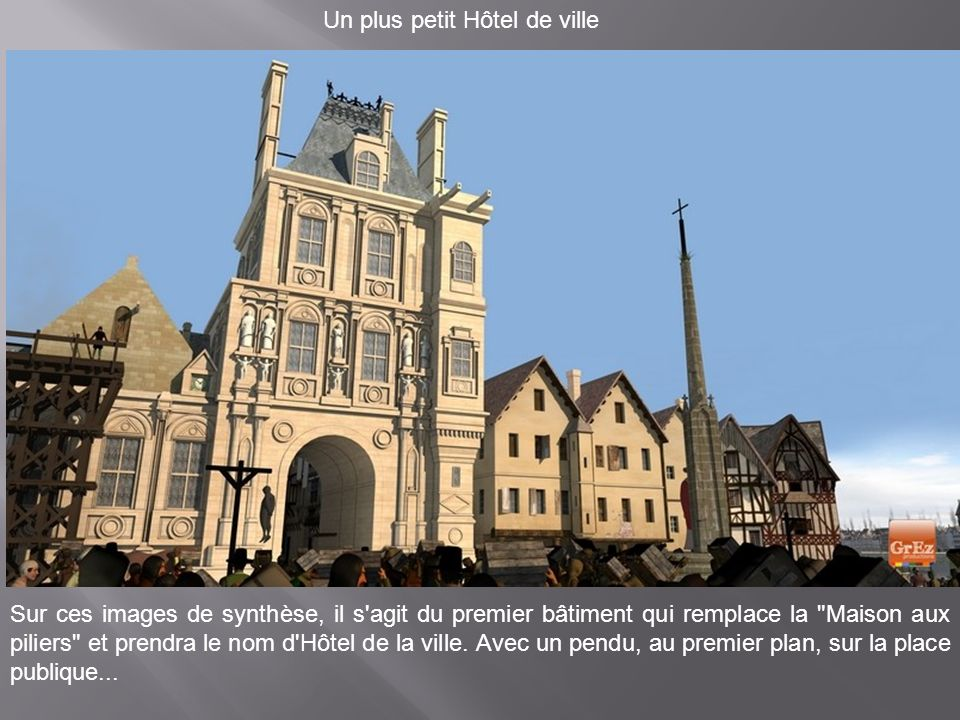 Un plus petit Hôtel de ville