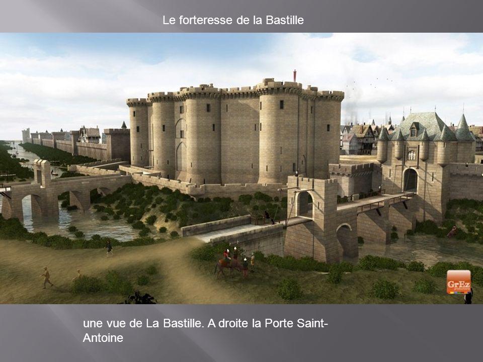 Le forteresse de la Bastille