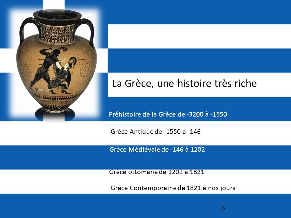 La Grèce, une histoire très riche