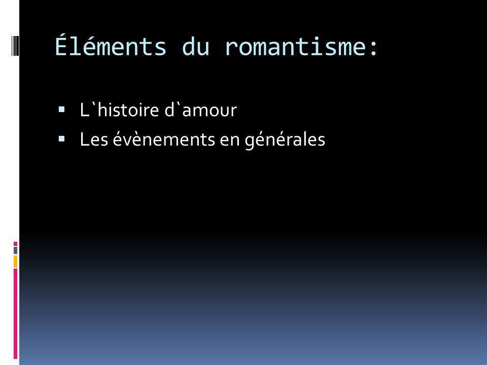 Éléments du romantisme: