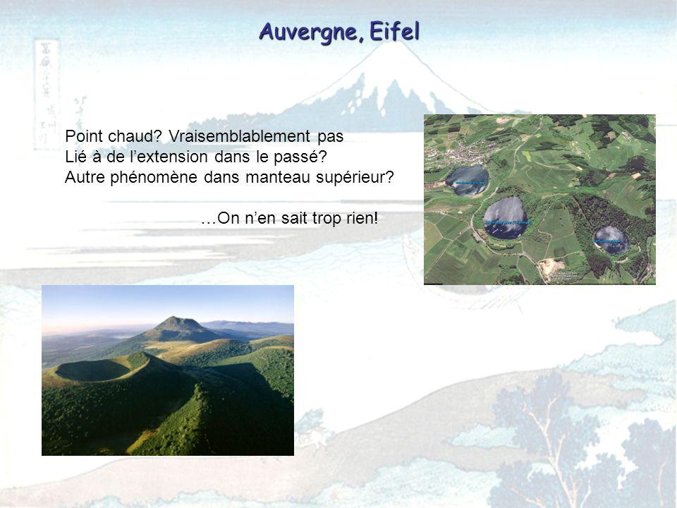 Auvergne, Eifel Point chaud Vraisemblablement pas