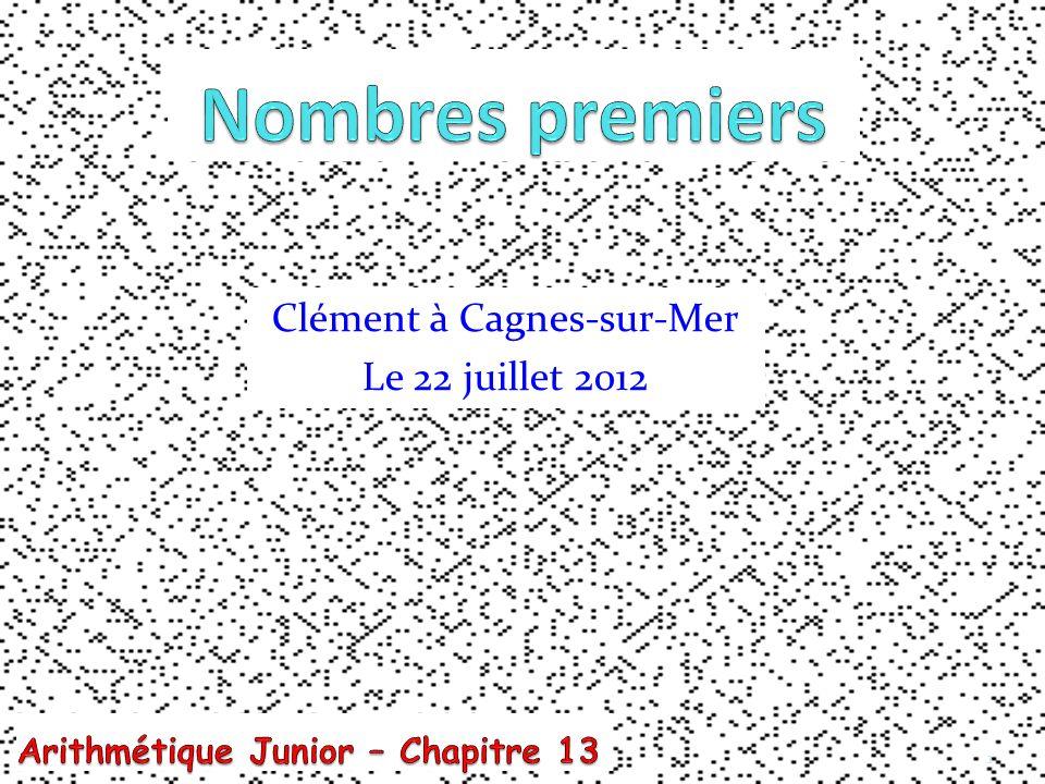 Clément à Cagnes-sur-Mer Le 22 juillet 2012